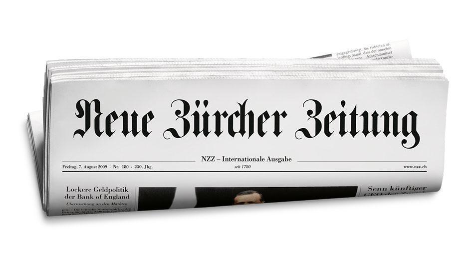 Neue Zürcher Zeitung about umbrellas