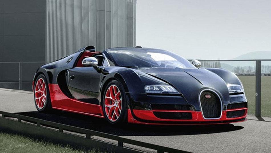We deliver special designs for Bugatti