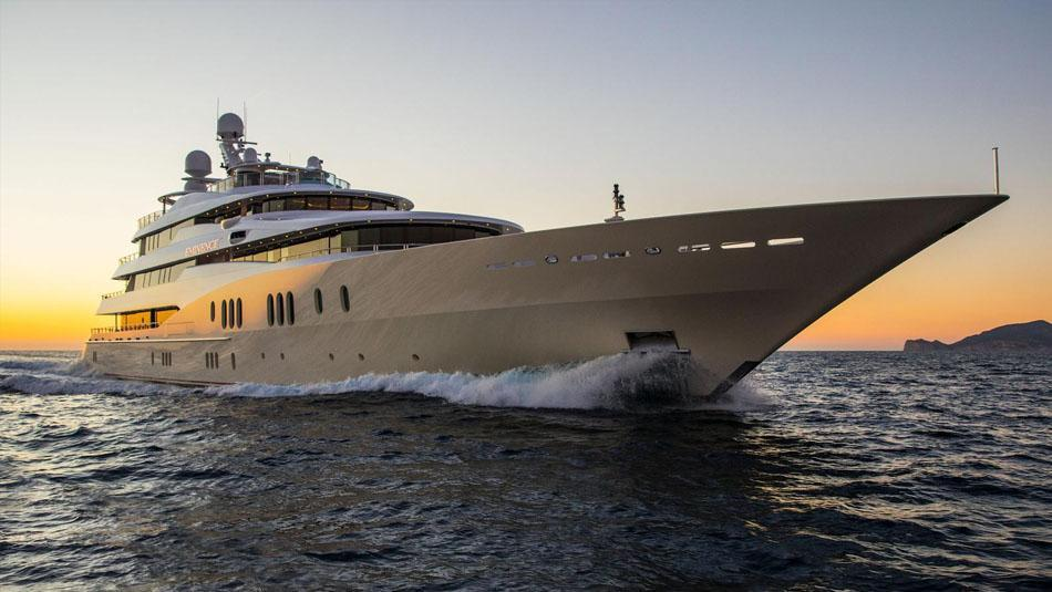 European Umbrellas equips new super yacht with umbrellas