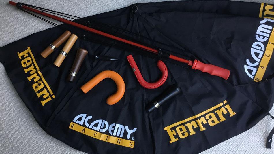 Umbrellas for the Ferrari Racing Academy