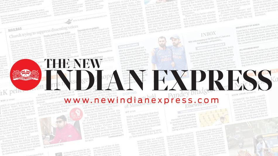 """EXPRESS INDIA"" with a report about European Umbrellas"
