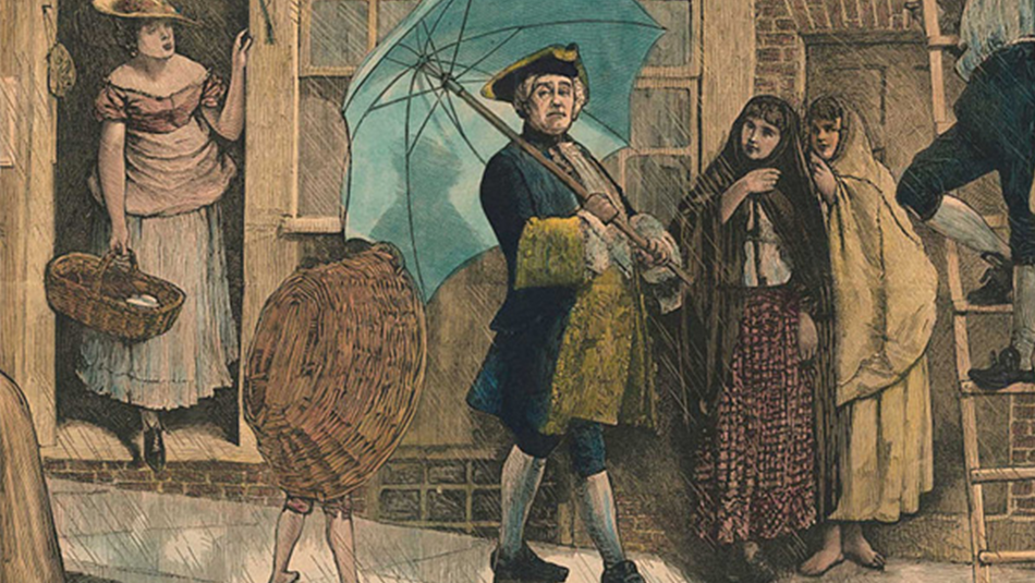 The History of the umbrella