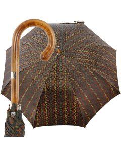 Oertel Handmade Ladies Classic Paisley - black/brown