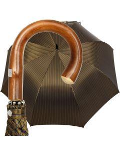 Oertel Handmade - Sport Stripes - blue-green | European Umbrellas