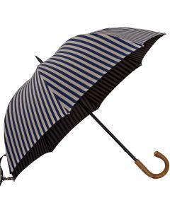 Oertel Handmade - Sport Stripes - cognac-brown | European Umbrellas
