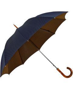 Oertel Handmade - Classic II - Dots blue-yellow | European Umbrellas