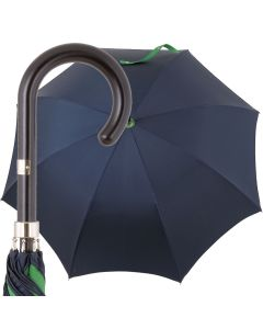 Oertel Handmade Ladies - double uni - navy-green | European Umbrellas