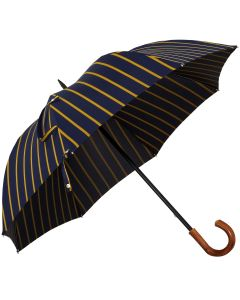 Oertel Handmade - Sport Stripes - blue-yellow | European Umbrellas