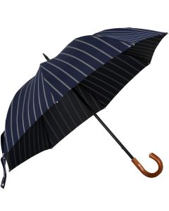 Oertel Handmade - Sport Stripes - blue-silver | European Umbrellas