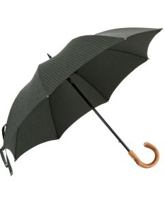 Oertel Handmade - Fox - Tweed stripes - green | European Umbrellas