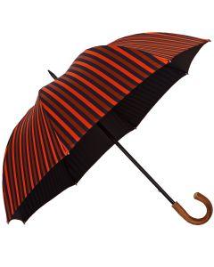Oertel Handmade - Sport Stripes - blue-orange | European Umbrellas