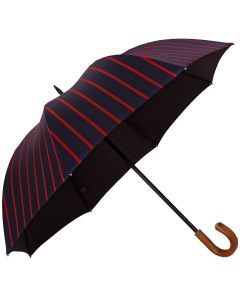 Oertel Handmade - Sport Stripes - navy-red | European Umbrellas