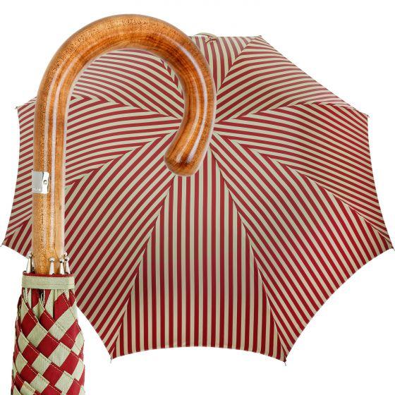 Oertel Handmade - Classic Maple - Stripes -red/beige