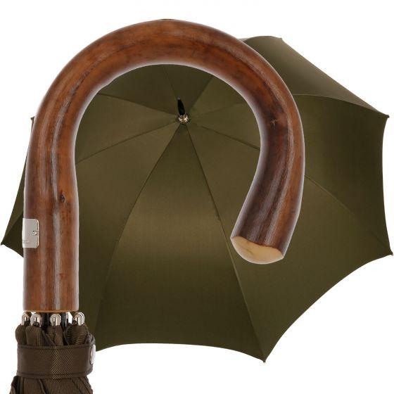 Oertel Handmade - Sport uni  - olive | European Umbrellas