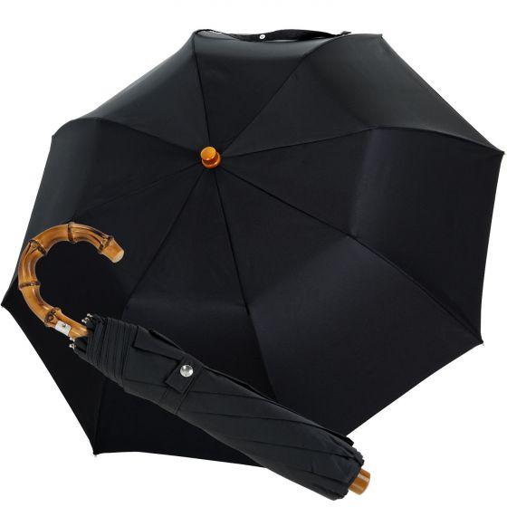 Oertel Handmade pocket umbrella - Whangee Bamboo | European Umbrellas