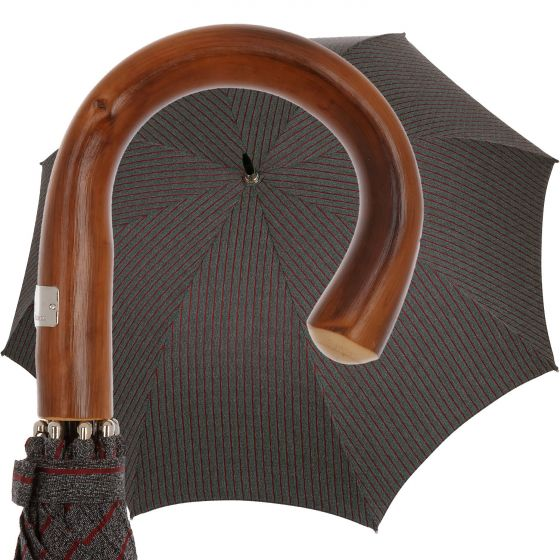 Oertel Handmade - Sport - Tweed stripes - red   European Umbrellas